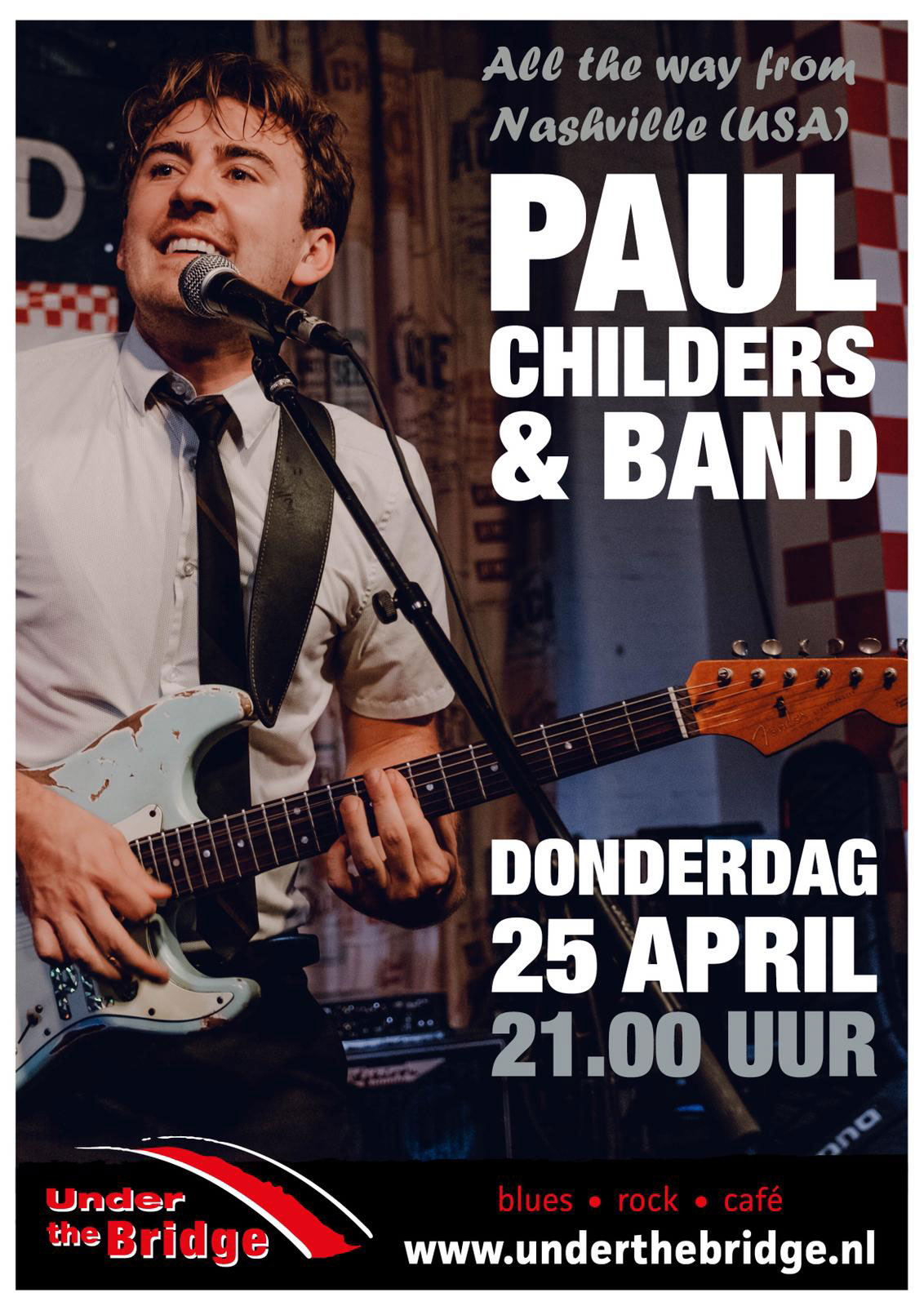 Paul Childers & Band live in Under The Bridge