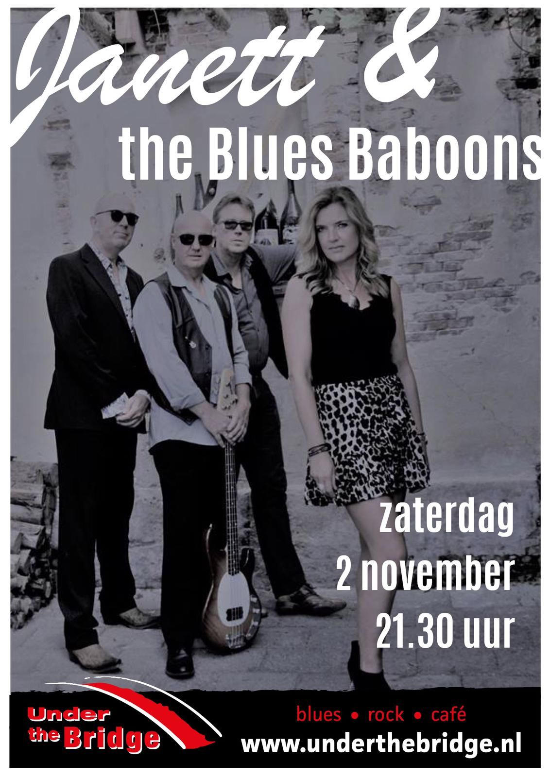 Janett & the Blues Baboons Live in Under the Bridge